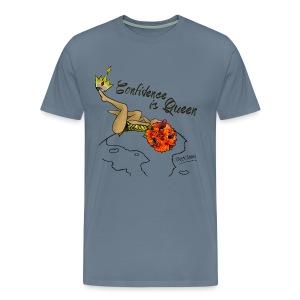 Confident Queen  - Men's Premium T-Shirt