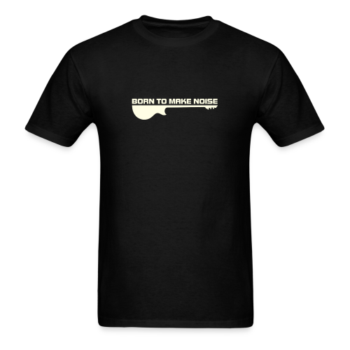 born noise white - Men's T-Shirt