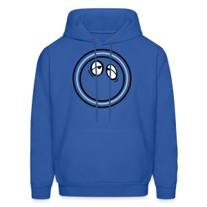 Emotional face bored Men's Hoodie - Men's Hoodie