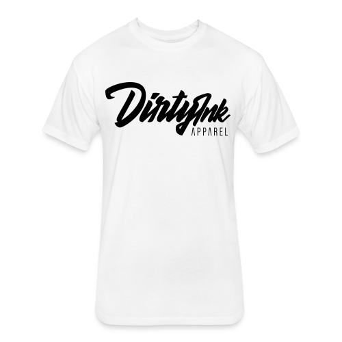 Unisex Logo Tee - White - Fitted Cotton/Poly T-Shirt by Next Level