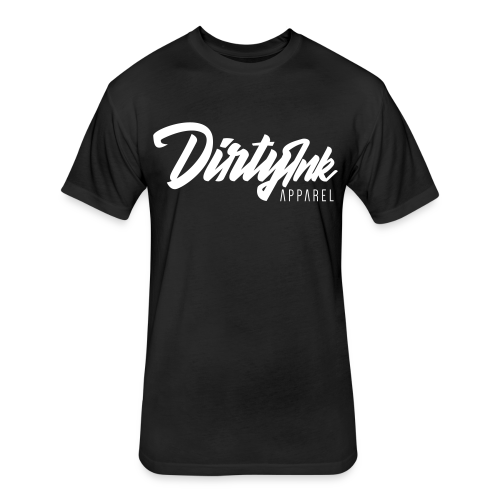 Unisex Logo Tee - Black - Fitted Cotton/Poly T-Shirt by Next Level