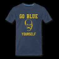 T-Shirts ~ Men's Premium T-Shirt ~ Go Blue Yourself [M]