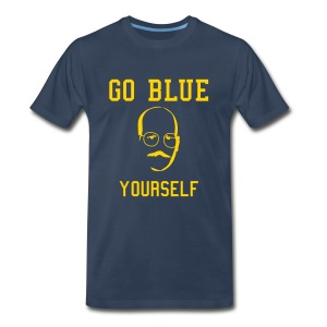 Go Blue Yourself [M] - Men's Premium T-Shirt