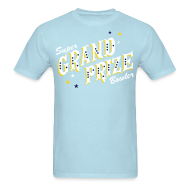 T-Shirts ~ Men's T-Shirt ~ Super Grand Prize Bowler