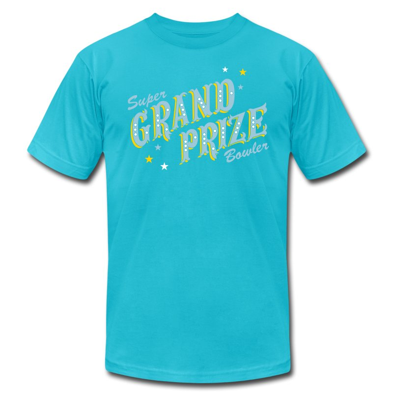 Super Grand Prize Bowler - Men's T-Shirt by American Apparel