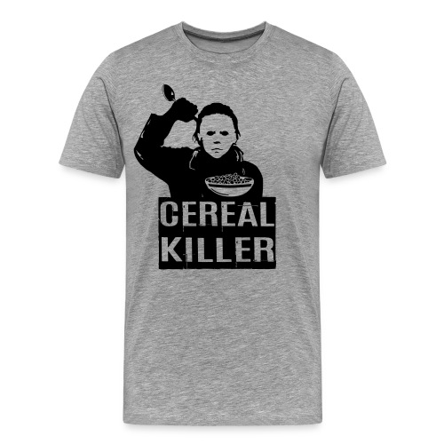 Funny Halloween Cereal Killer T Shirt - Men's Premium T-Shirt