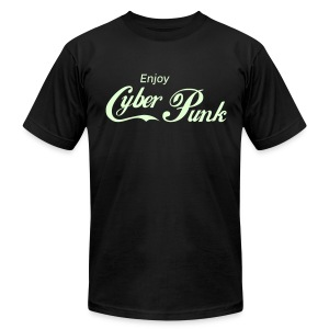Enjoy Cyberpunk™ - Men's Fine Jersey T-Shirt