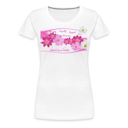 Honesty,Loyalty,Respect,L T-Shirts - Women's Premium T-Shirt