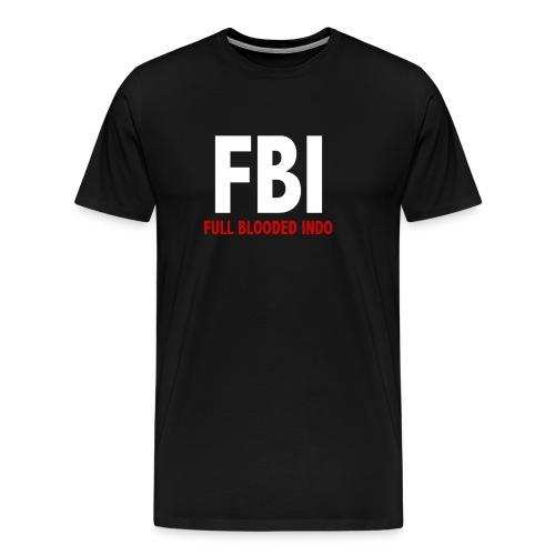 T-shirt: Full Blooded Indo - Men's Premium T-Shirt