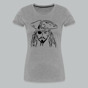 Pirate in Black - Women's - Women's Premium T-Shirt