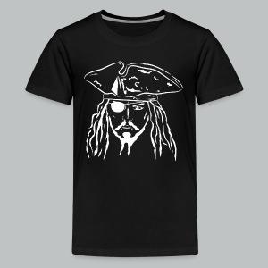 Pirate in White - Kid's - Kids' Premium T-Shirt