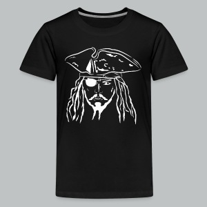 Pirate in White - Kid's - Kids' Premium T-Shirt
