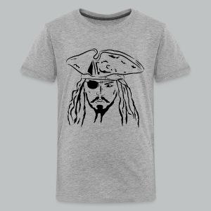 Pirate in Black - Kid's - Kids' Premium T-Shirt