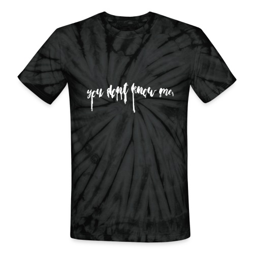 BA Tie Dye T-Shirt - Unisex Tie Dye T-Shirt
