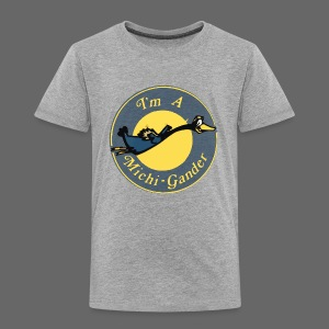 I'm a Michigander - Toddler Premium T-Shirt