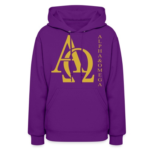 Alpha and Omega Collection - Women's Hoodie