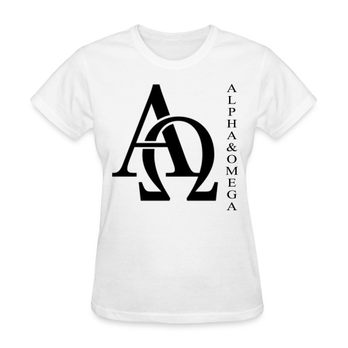 Alpha and Omega Collection - Women's T-Shirt