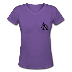 Alpha and Omega Collection - Women's V-Neck T-Shirt