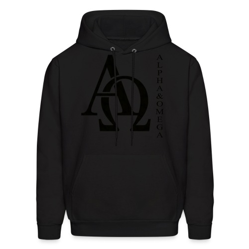 Alpha and Omega Collection - Men's Hoodie