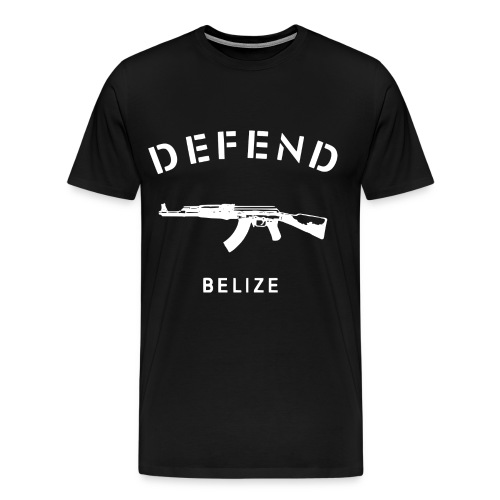 Defend Belize T-Shirt - Men's Premium T-Shirt
