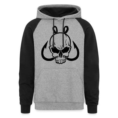 Get Hooked Clothing Sweatshirt - Colorblock Hoodie