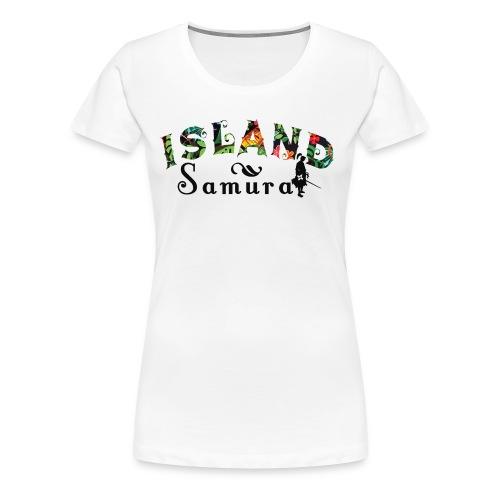 Island Samurai (Women) - Women's Premium T-Shirt