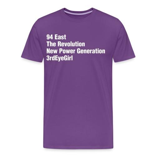 Purple Bands - Men's Premium T-Shirt
