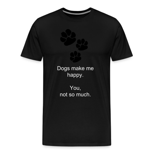 Dog Lovers Unite! - Men's Premium T-Shirt