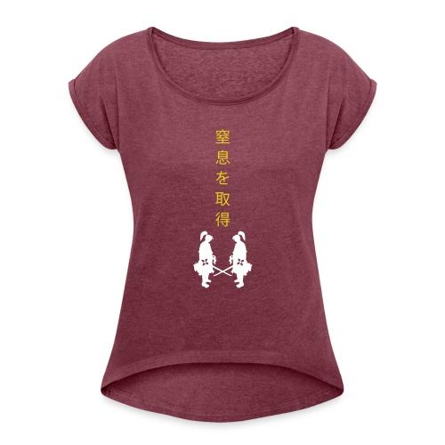 Samurai Showdown - Women's Roll Cuff T-Shirt