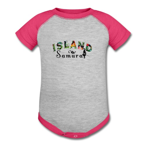 Island Samurai (infant) - Baby Contrast One Piece