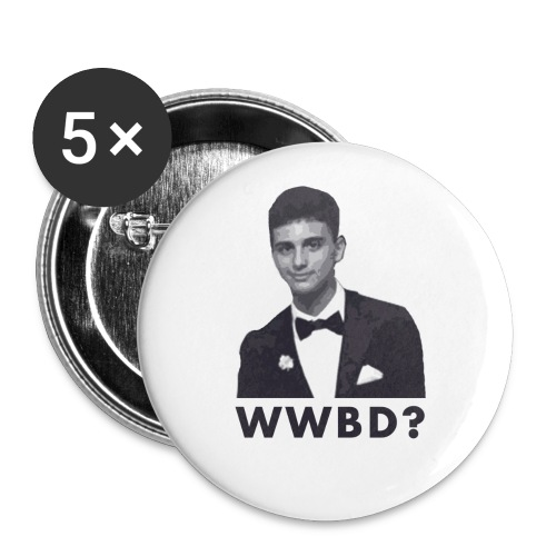 What Would Brian Do? Button - Buttons large 2.2'' (5-pack)