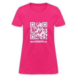QR Code T-Shirt (Women) - Women's T-Shirt
