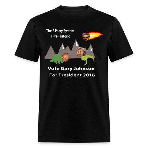 Gary Johnson Shirt - Men's T-Shirt