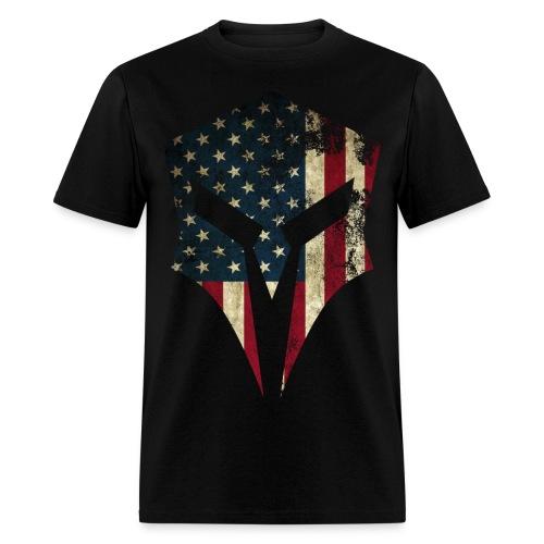 Spartan Apparel - Large graphic logo t-shirt - Men's T-Shirt