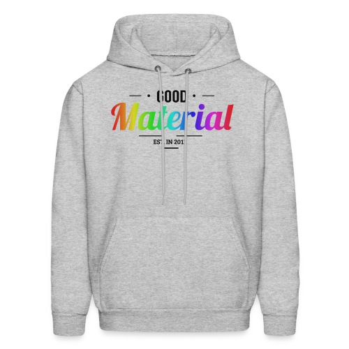 Material rainbow Hoodie (Light colors) - Men's Hoodie