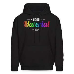 Material rainbow Hoodie (Dark colors) - Men's Hoodie