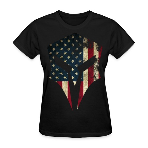 Spartan Apparel - Large graphic logo t-shirt - Women's T-Shirt