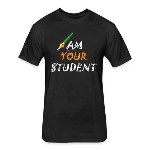 Students T.shirts - Fitted Cotton/Poly T-Shirt by Next Level
