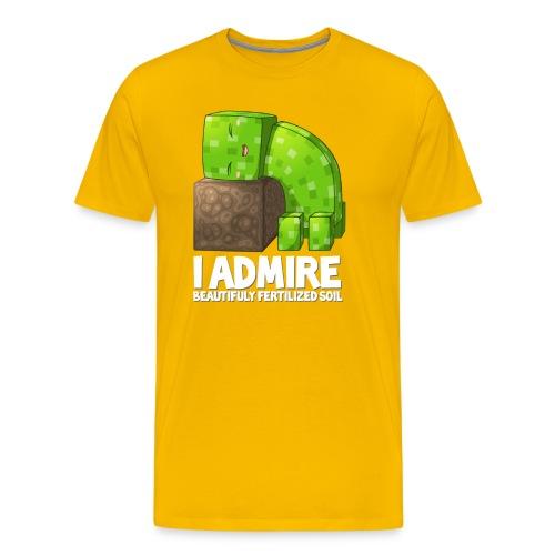 Creeper Admires Soil | Mens - Men's Premium T-Shirt