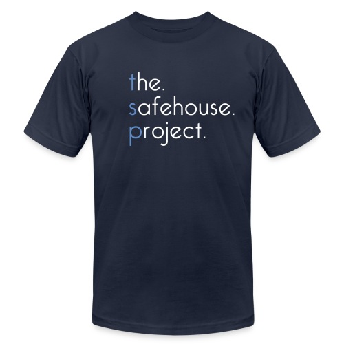The Safehouse Project Original Tee AMERICAN APPAREL - Men's Fine Jersey T-Shirt