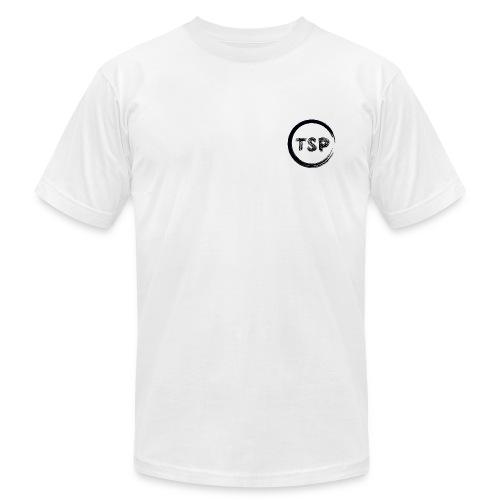 TSP White Logo Tee AMERICAN APPAREL - Men's  Jersey T-Shirt