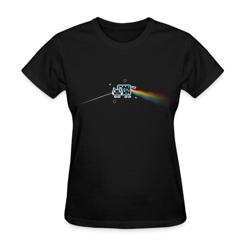 The Dark Side of the Mewn - Women's T-Shirt