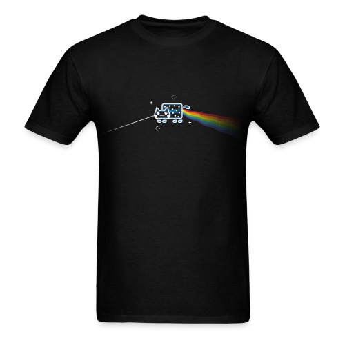 Dark Side of the Mewn - Men's T-Shirt