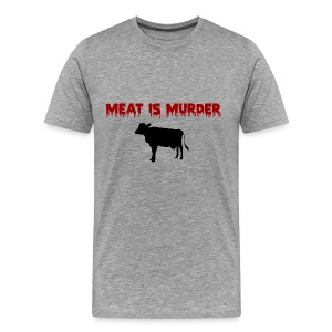 Meat is Murder - Men's Premium T-Shirt