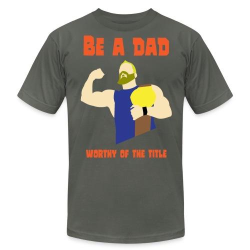 be a dad - Men's Fine Jersey T-Shirt