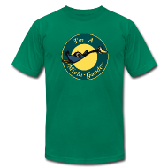 T-Shirts ~ Men's T-Shirt by American Apparel ~ I'm a Michigander