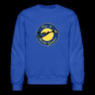 Long Sleeve Shirts ~ Crewneck Sweatshirt ~ I'm a Michigander Flowy