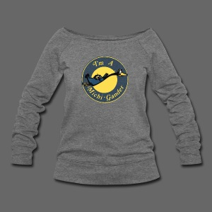 I'm a Michigander Flowy - Women's Wideneck Sweatshirt