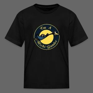 I'm a Michigander Flowy - Kids' T-Shirt
