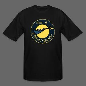 I'm a Michigander Flowy - Men's Tall T-Shirt